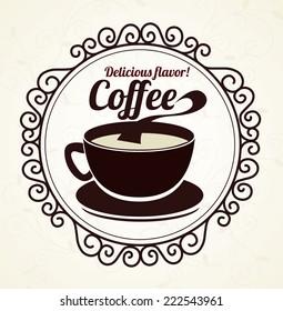 Drinks design over beige background,vector illustration