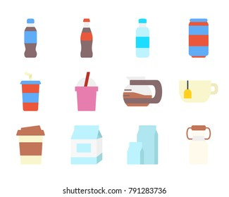 Drinks flat icon