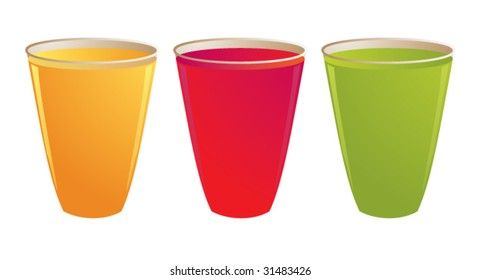 Drinks - vector