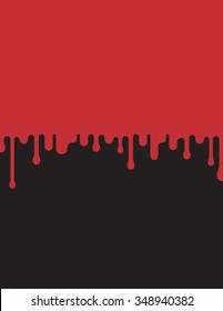 Dripping blood vector background illustration. Easy to edit and fully scalable.