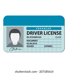 Driver License Images, Stock Photos & Vectors | Shutterstock