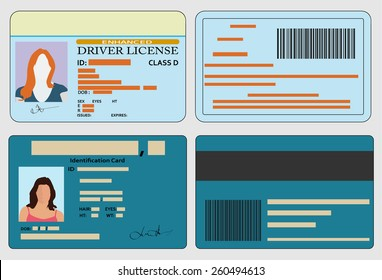 Driver license and identification card