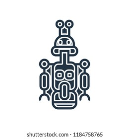 Droid icon vector isolated on white background for your web and mobile app design, Droid logo concept