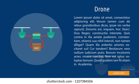 Drone Banner Concept