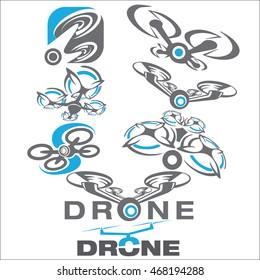 drone concept set