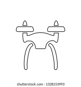 Drone icon. Fly caro sign