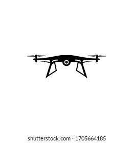 drone icon vector illustration solid