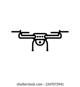 drone icon vector template