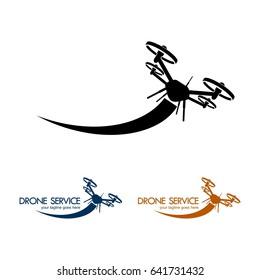 Drone Illustration Template IX