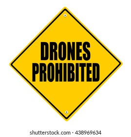 drones prohibited sign