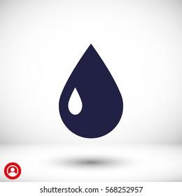 a drop  icon