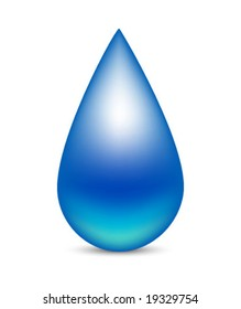drop icon isolated