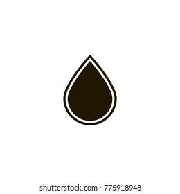 drop icon. sign design