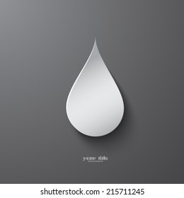 Drop logo design