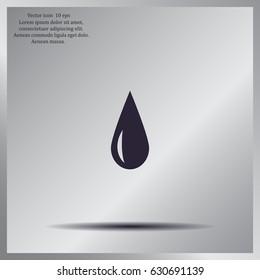 drop - vector icon