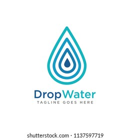 Drop Water Creative Logo