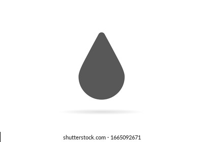 Drop Water Icon vector Splash Water Rain Logo Template illustration Blood drops line Drop Water Icon vector outline Drop Water Icon vector sign, linear style pictogram isolated on white