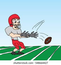 Dropped The Ball Cartoon