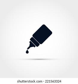 Dropper bottle icon