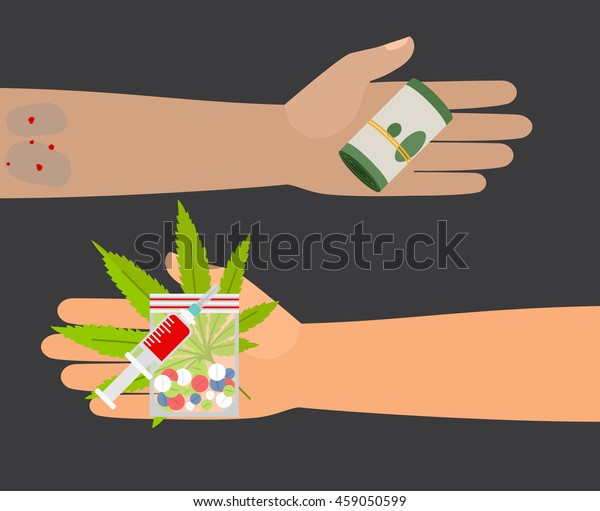drug buy give money take drugs stock vector royalty free 459050599 https www shutterstock com image vector drug buy give money take drugs 459050599