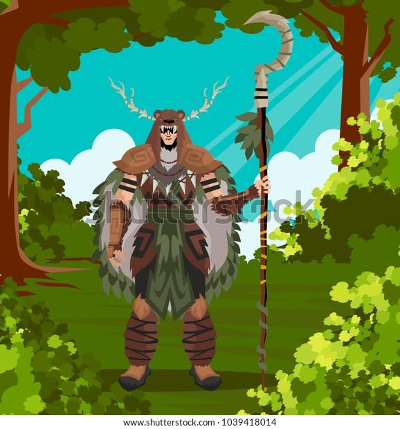 druid powerful character