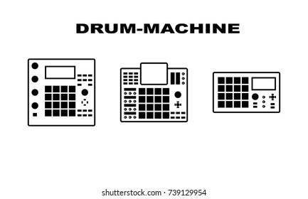 Drum Machine Images, Stock Photos & Vectors | Shutterstock