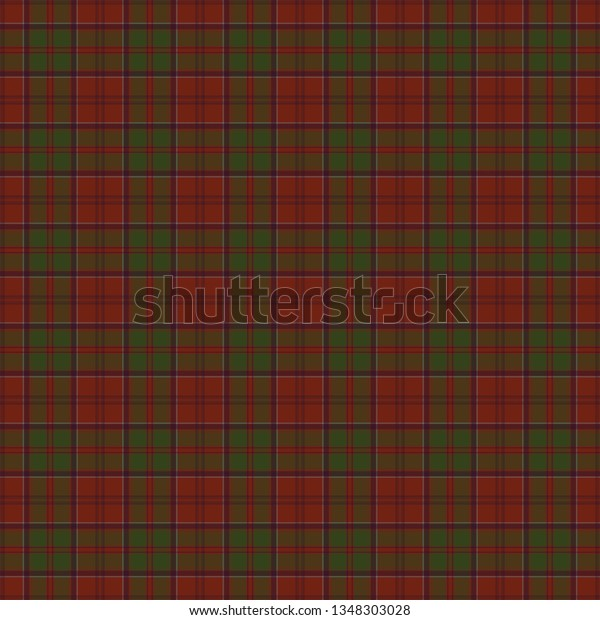 Drummond Clan Tartan Tartan Imitation Prints Stock Vector