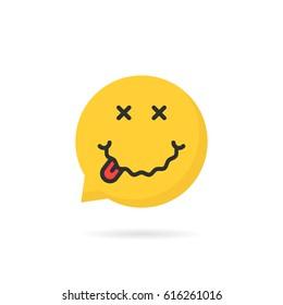 Drunk Emoji Images, Stock Photos & Vectors | Shutterstock