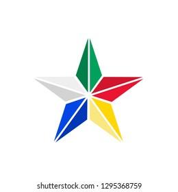 Druze star symbol of Druze religion Lebanon