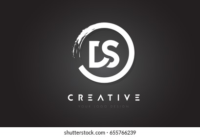 ds logo images stock photos vectors shutterstock https www shutterstock com image vector ds circular letter logo circle brush 655766239