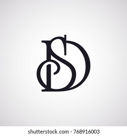 DS Logo For Business Company