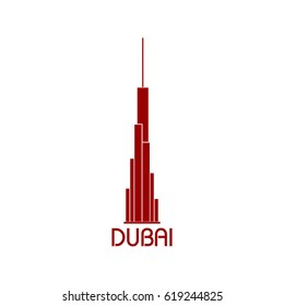 dubai icon vector