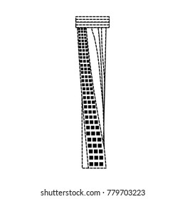 Dubai skyscraper tower