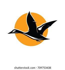 Duck Logo Vector