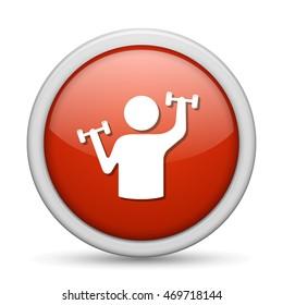 dumbbell training  icon