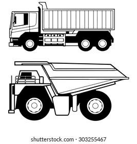 Dumper trucks