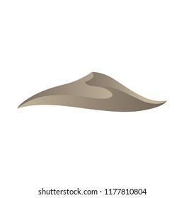 Dune, Gold Desert Sent. Logo Icon