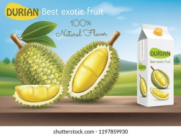 durian fruit package