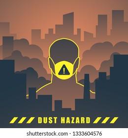 dust hazard illustration