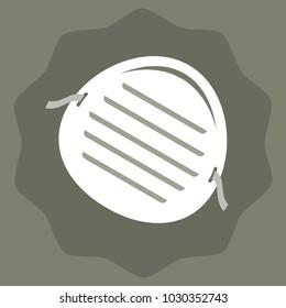 Dust mask vector illustration
