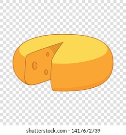 Dutch cheese icon. Cartoon illustration of cheese vector icon for web design