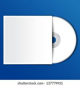 Dvd or cd video disc