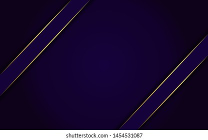 dynamic abtract dark navy background with gold line. background abstract modern design. eps 10 vector editable files