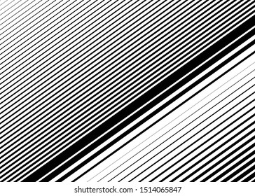 Dynamic lines, stripes pattern, texture. Lineal, linear element. Straight parallel skew strips, streaks background