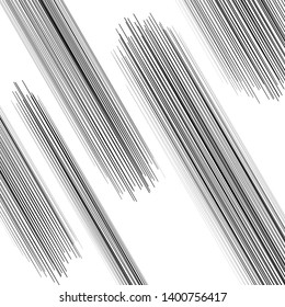 Dynamic sketchy ,edgy lines abstract pattern. Random, scattered lines