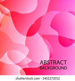 Dynamic texture background with fluid shapes modern concept - Vector