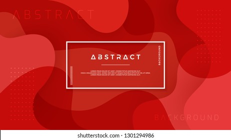 Dynamic textured background design in 3D style with red color. Can be used for posters, placards, brochures, banners, web pages, headers, covers, and other