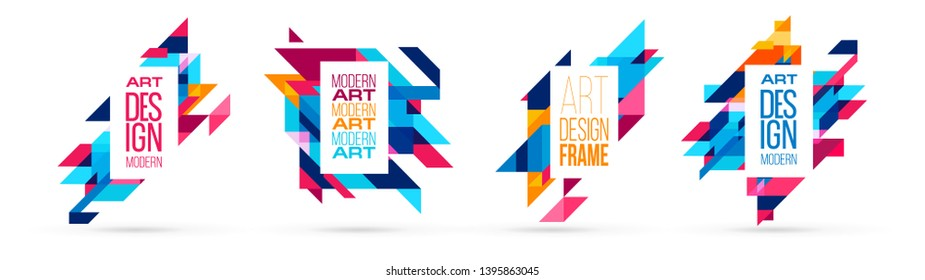 dynamic vector background illustration. minimalistic diagonal stripes and geometric elements. modern framework for the title text. design and allocation of important information