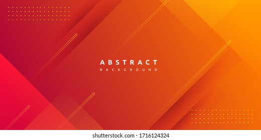 Dynamic vibrant colorful gradient orange background