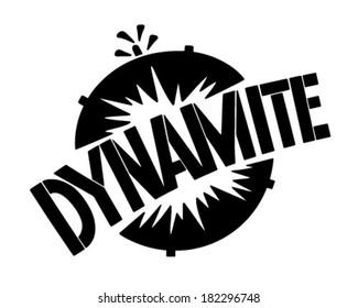 Dynamite Banner - Retro Clip Art Illustration